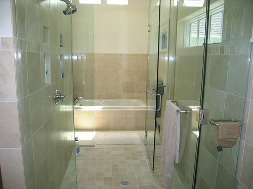Prestige Services LLC, Erie, PA :: Bathroom Shower