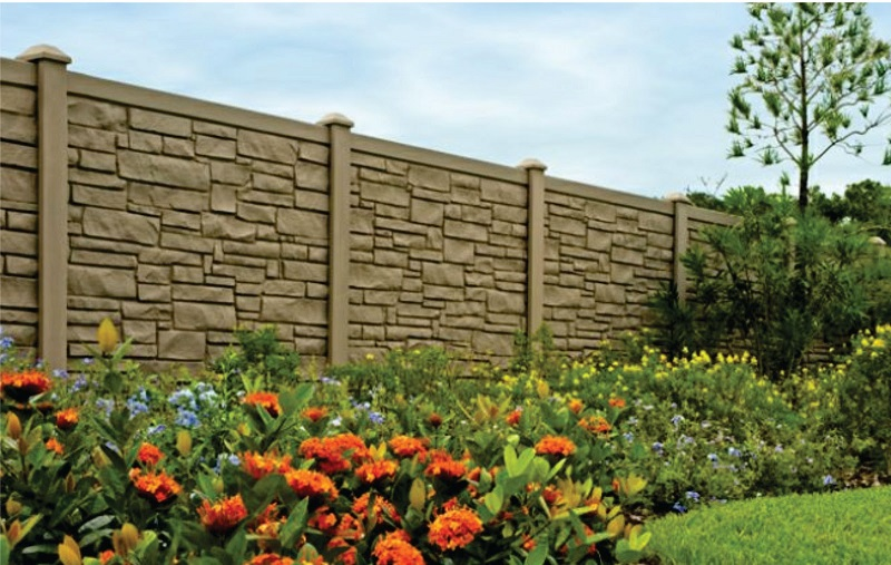 Fences And Hardscapes 004 on additions with stone
