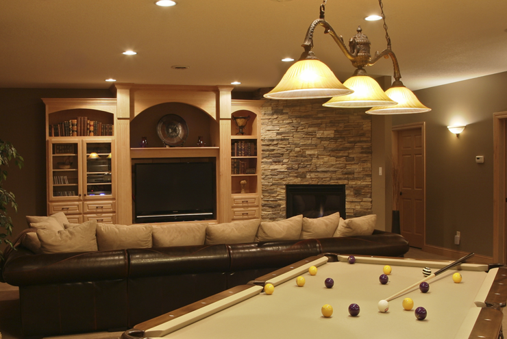 Prestige Services LLC, Erie, PA :: Theater and Game Rooms